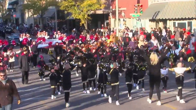 Bands march in Harvest of Harmony parade | KHGI