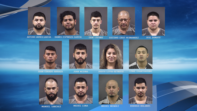 12 individuals arrested in federal drug raid in Grand Island | KHGI