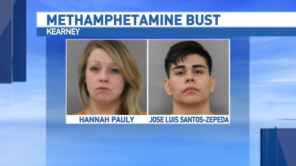 Police arrest two on methamphetamine charges in Kearney | KHGI