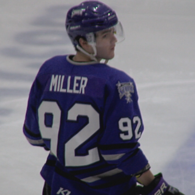 Miller Plays Way To First Team All Ushl Khgi
