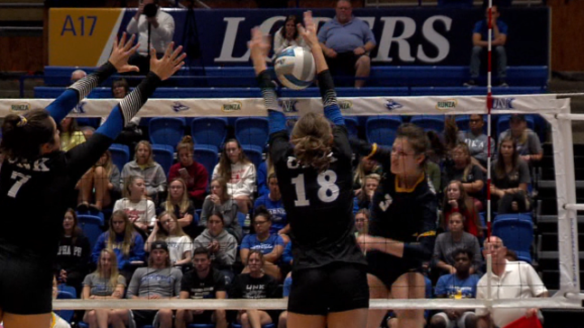 Lopers rally from deficit against OK Baptist, goes 2-0 | KHGI