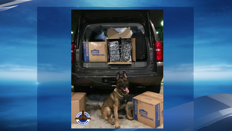 Hamilton County traffic stops lead to 168 pounds of